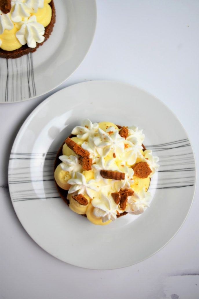 Tartelettes au citron et biscuits spéculoos