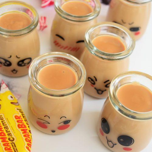 Crème dessert Carambar au Companion
