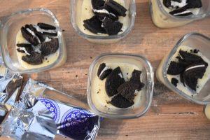 Crème vanille et biscuit au Companion
