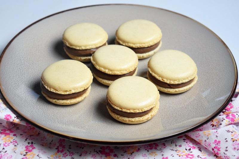Macarons mascarpone nutella