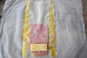 Pliage nems au fromage