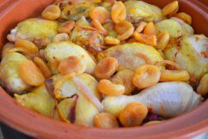 Abricots secs en tajine