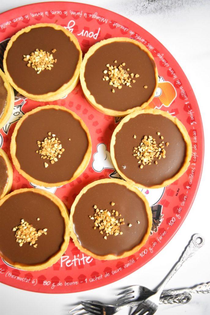 Tartellettes au chocolat au Companion