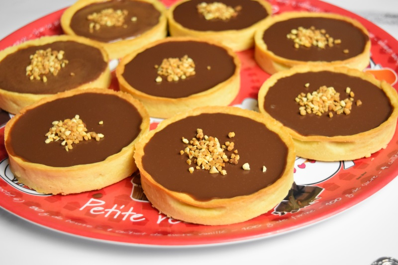 Tartelettes au chocolat Côte d'Or