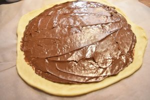 Pâte à brioche et nutella