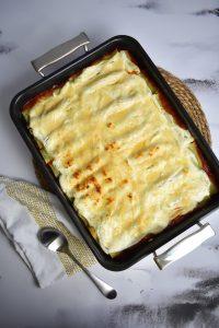 Cannelloni végétariens au Companion