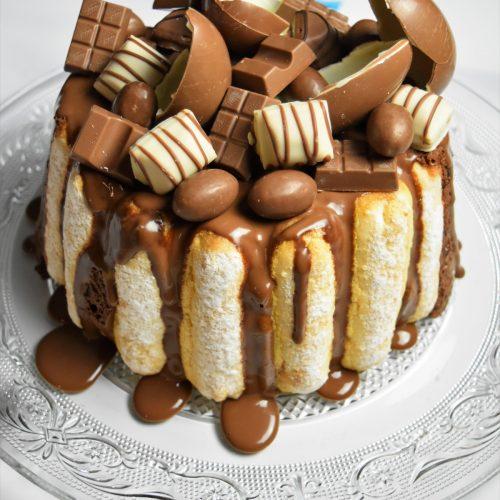 Charlotte aux chocolats Kinder