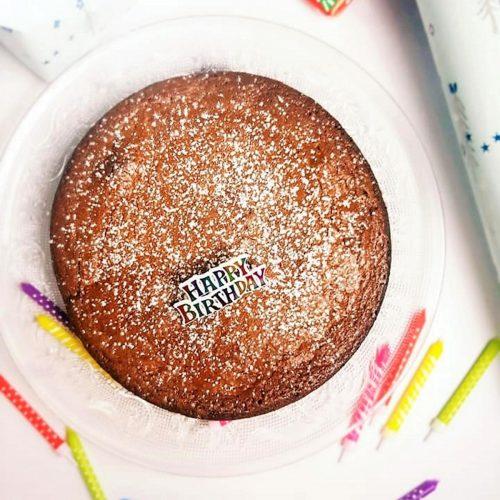 Gâteau au chocolat macaroné au Companion