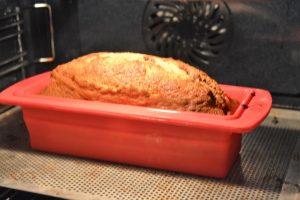 Cuisson du marbré au chocolat