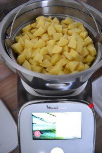Cuisson des pommes de terre au companion