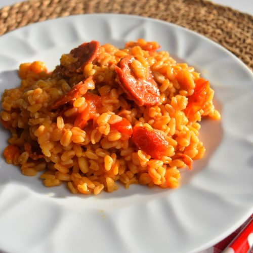 Ebly au chorizo