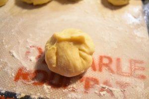 Pâte à gaufre au nutella