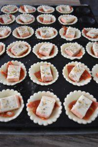 Mini tartelettes apéritives