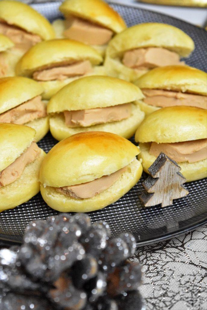 Navettes au foie gras