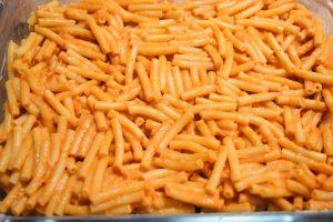Macaroni sauce aurore