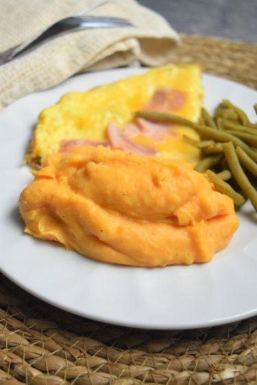 Purée de patate douce au companion