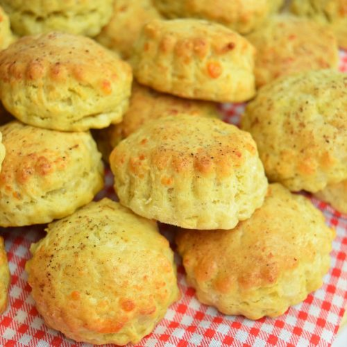 Scones au fromage et moutarde