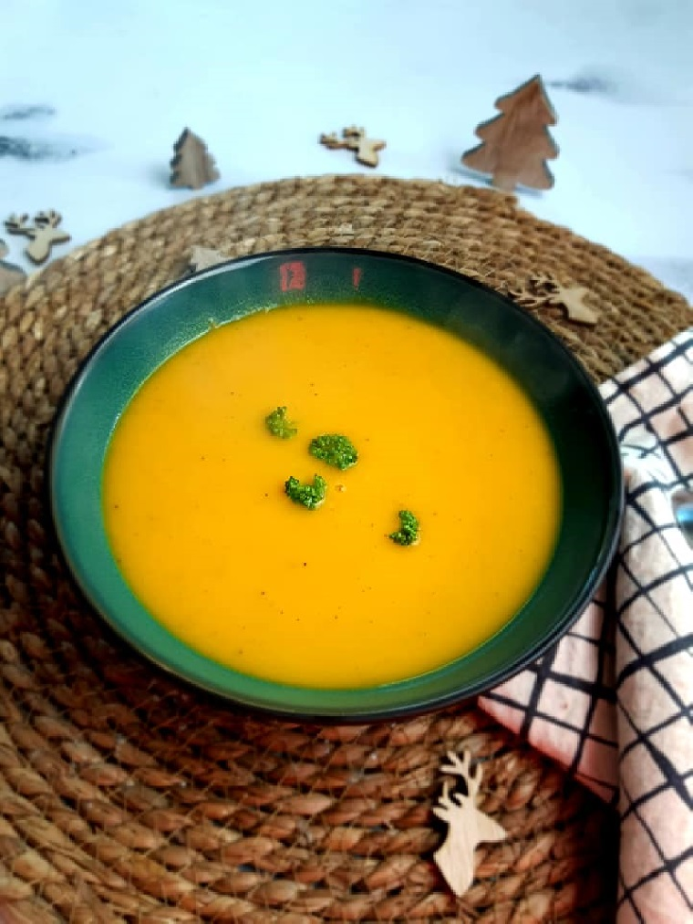 Velouté de butternut et carotte