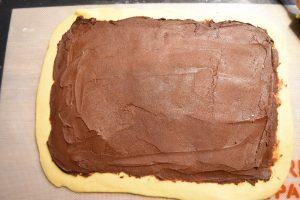 Pâte à brioche et chocolat