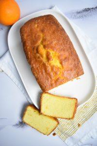 Cake à l'orange moelleux