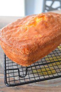 Cake à l'orange avec sirop