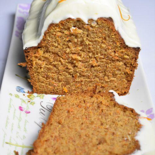 Carrot cake et glaçage