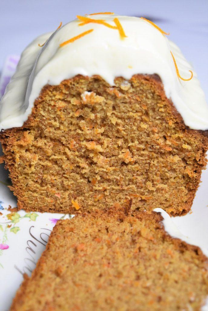 Carrot cake américain
