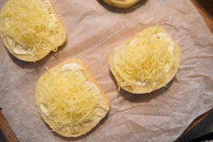 Croques au pain de mie sans croûte