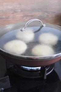 Muffins cuits à la poêle