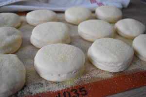 Muffins anglais gonflés