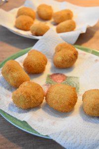 Nuggets maison frits
