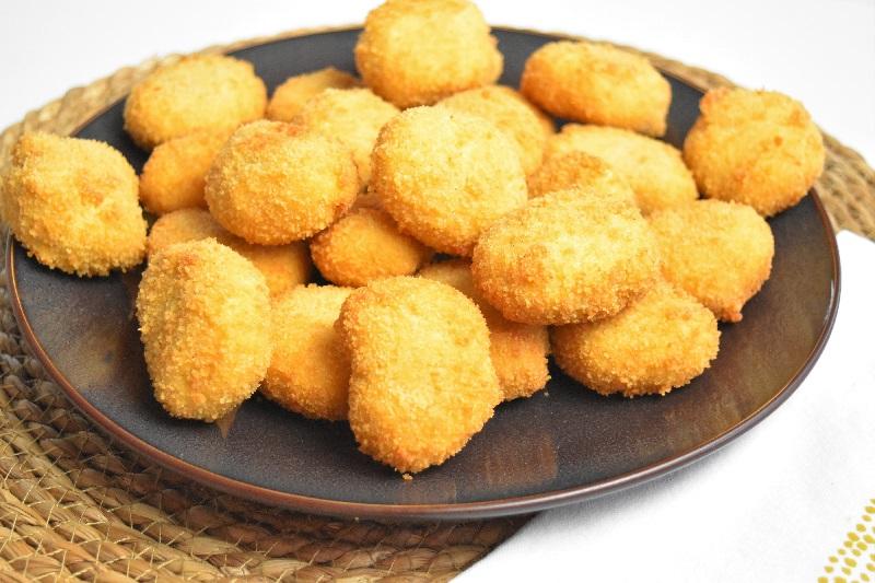 Nuggets de poulet à la vache qui rit
