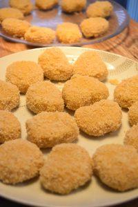 Nuggets de poulet panés