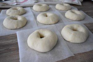 Bagels gonflés