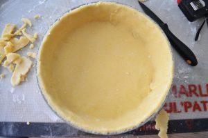 Pâte à tarte au fromage blanc