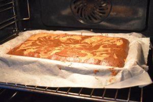 Cuisson du gâteau façon brookie