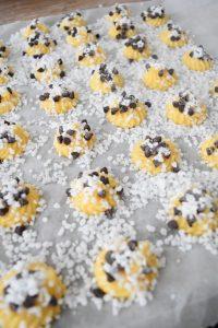 Chouquettes aux perles de sucre