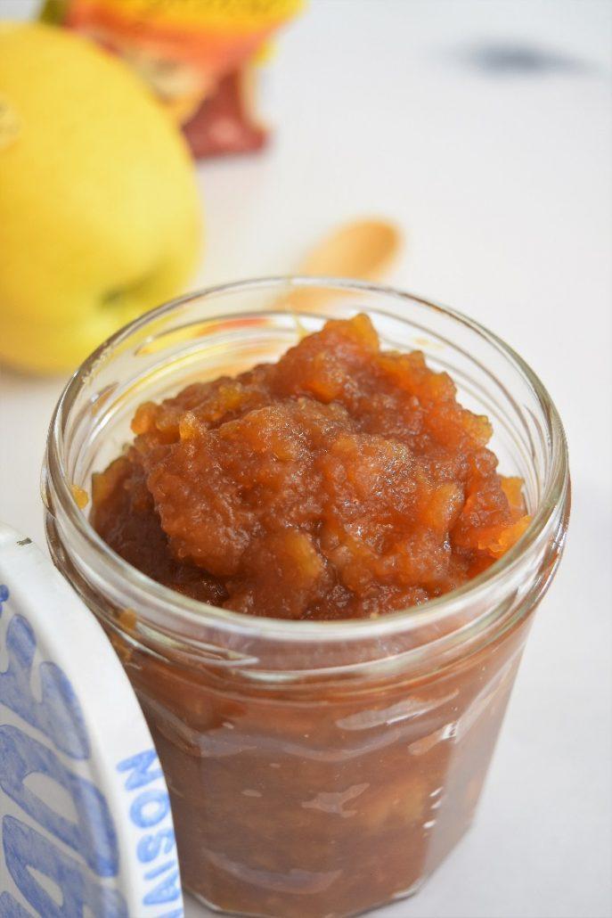 compote de pommes à la vergeoise