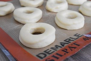 Pousse des donuts