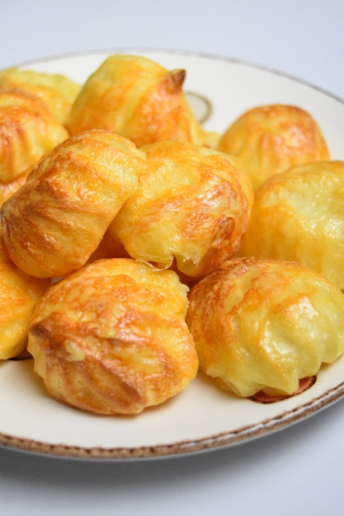 Petits choux au fromage