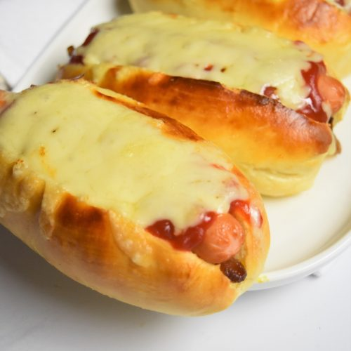 Hot dog au fromage