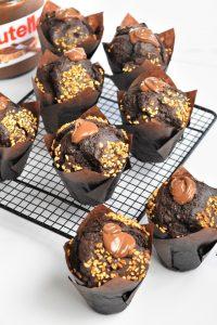 Muffins au chocolat américains