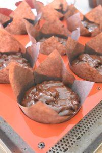 Moule à muffins avec caissettes