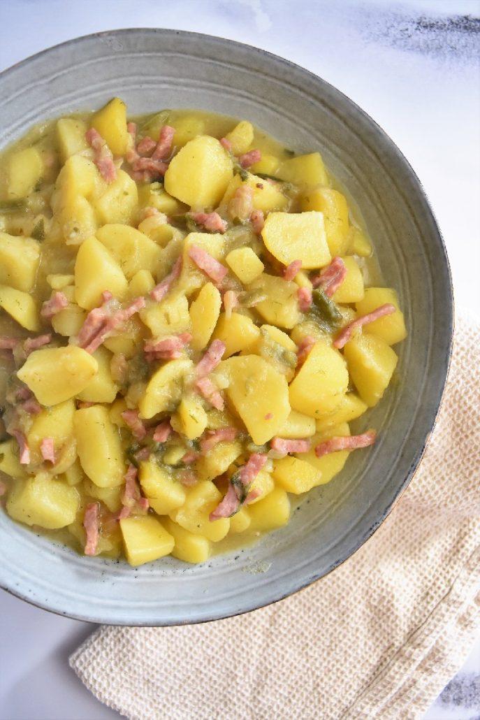 Pommes de terre jambon au cookeo