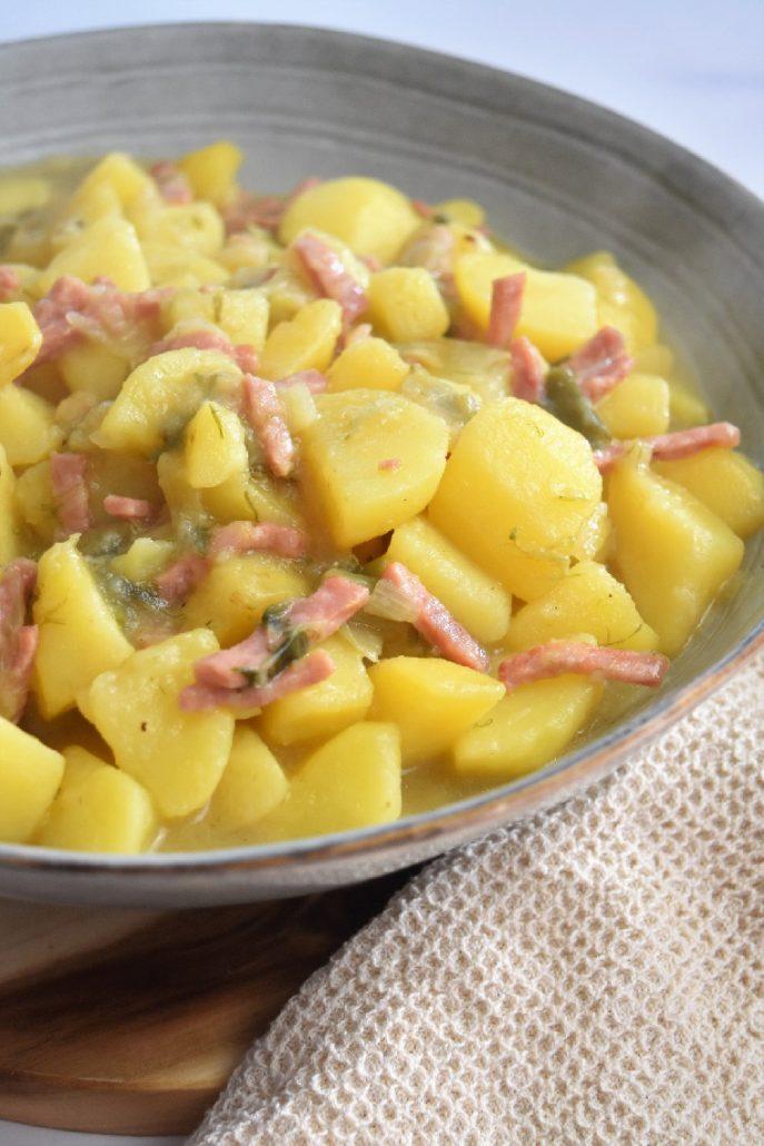 Recette de pommes de terre au cookeo