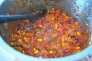 Chili au Companion pour lasagnes mexicaines