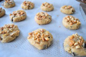 Cookies aux cacahuètes caramel