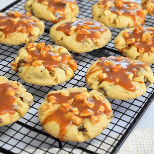 Cookies cacahuètes et caramel de Cédric Grolet