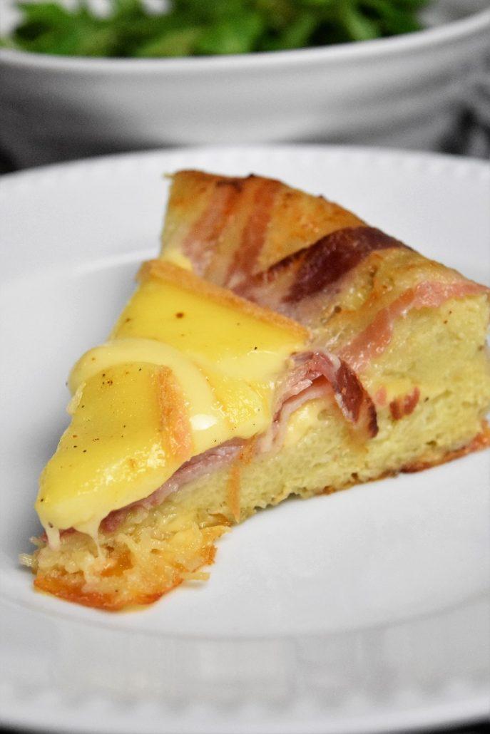 Part de kouglof raclette