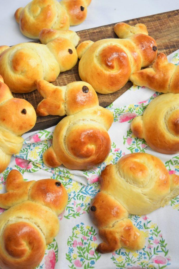 Lapin brioche de Pâques